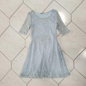 Delia's Pastel Blue Lace Dress Size Small
